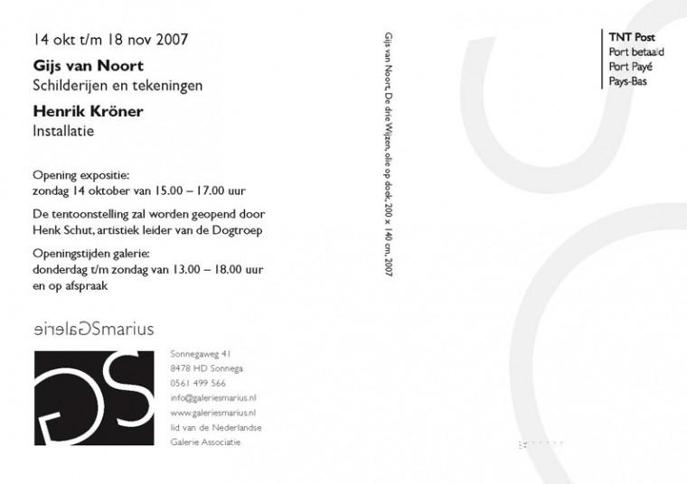 uitnodiging galerie smarius achterkant