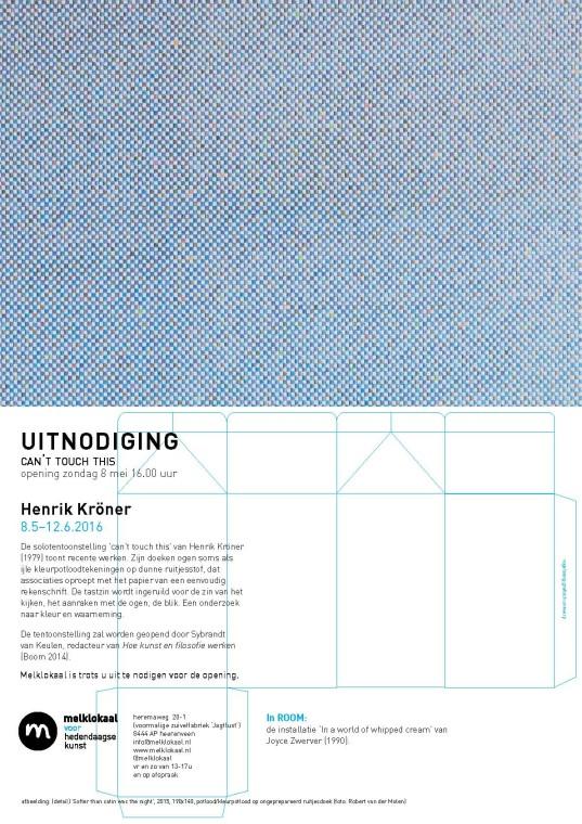 uitnodiging expo henrik Kröner